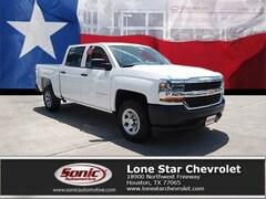 New 2018 Chevrolet Silverado 1500 WT Truck Crew Cab JG397946 in Houston