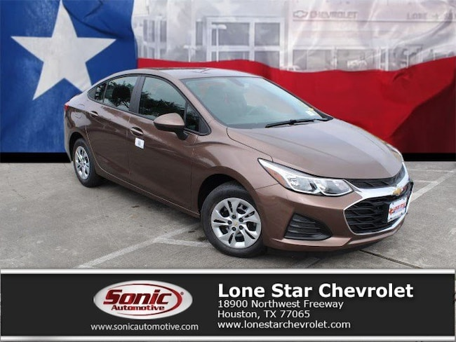 New 2019 Chevrolet Cruze LS Sedan K7137516 in Houston