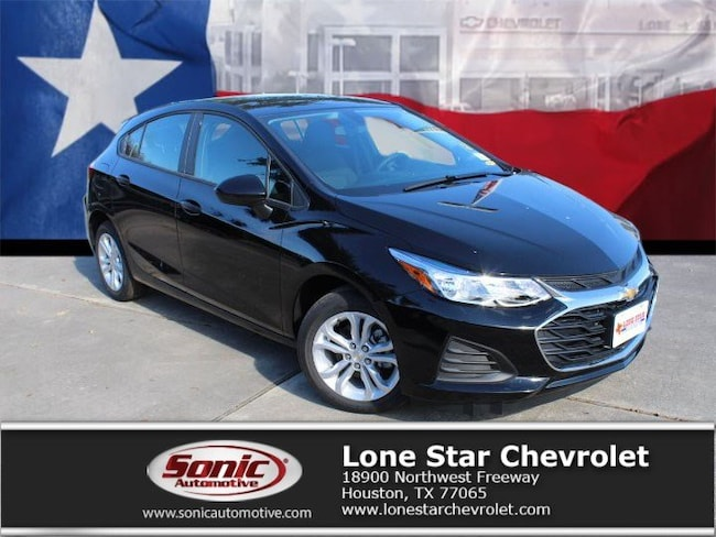 New 2019 Chevrolet Cruze LS Hatchback KS563267 in Houston