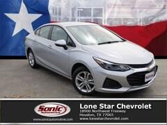New 2019 Chevrolet Cruze LT Sedan K7143035 in Houston