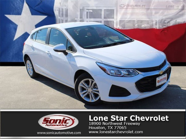 New 2019 Chevrolet Cruze LS Hatchback KS564606 in Houston