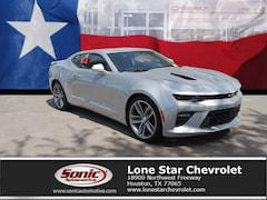 New 2018 Chevrolet Camaro 1SS Coupe J0170836 in Houston
