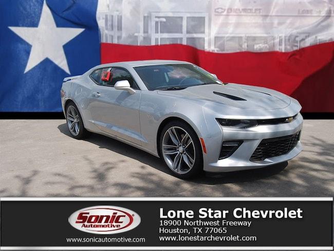 New 2018 Chevrolet Camaro 1SS Coupe J0170836 in Houston