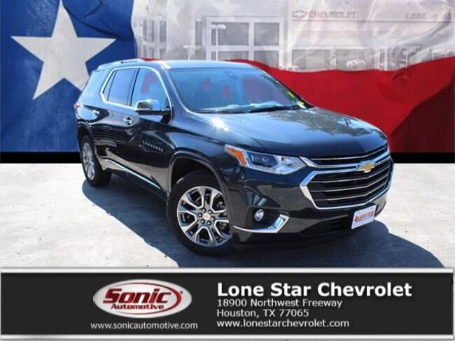New 2019 Chevrolet Traverse Premier SUV KJ164204 in Houston