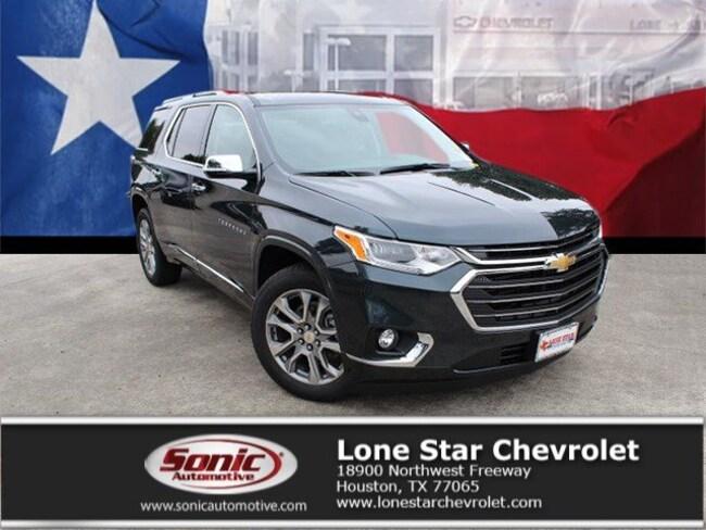 New 2019 Chevrolet Traverse Premier SUV KJ170041 in Houston