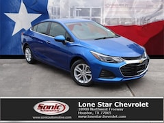 New 2019 Chevrolet Cruze LT Sedan K7137206 in Houston