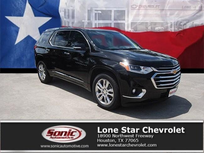 New 2019 Chevrolet Traverse High Country SUV KJ125891 in Houston
