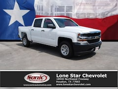 New 2018 Chevrolet Silverado 1500 Truck Crew Cab JG399386 in Houston