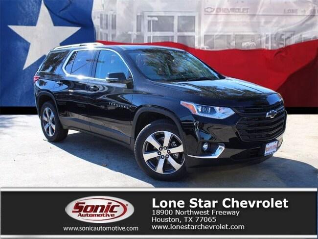 New 2019 Chevrolet Traverse LT Leather SUV KJ194306 in Houston
