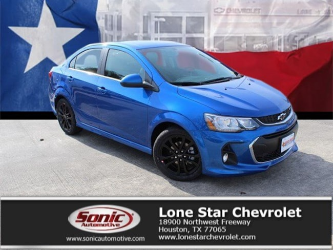 New 2019 Chevrolet Sonic Premier Auto Sedan K4115140 in Houston