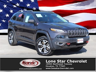 Used 2015 Jeep Cherokee Trailhawk 4WD 4dr SUV for sale in Houston