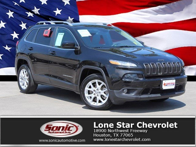 Used 2014 Jeep Cherokee Latitude FWD 4dr SUV for sale in Houston