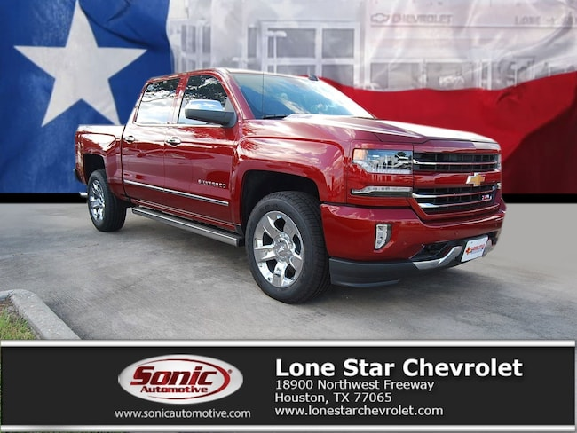New 2018 Chevrolet Silverado 1500 LTZ Truck Crew Cab JG312580 in Houston