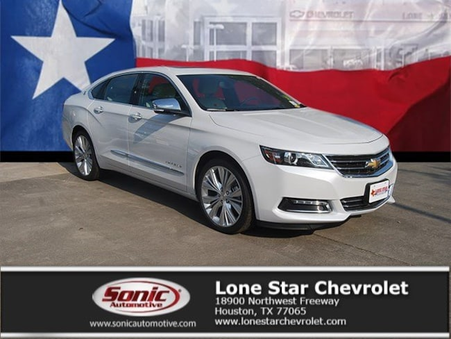 New 2019 Chevrolet Impala Premier w/2LZ Sedan K9101537 in Houston