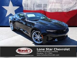 New 2019 Chevrolet Camaro 1LT Coupe K0114799 for sale in Houston, TX