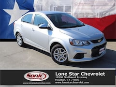 New 2019 Chevrolet Sonic LS Auto Sedan K4124994 in Houston