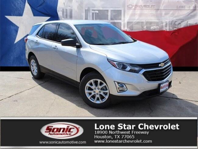New 2019 Chevrolet Equinox LS SUV K6214422 in Houston