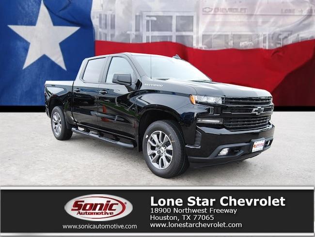 New 2019 Chevrolet Silverado 1500 RST (BLACK WHEELS) Truck Crew Cab KZ103921 in Houston