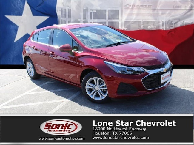 New 2019 Chevrolet Cruze LT Hatchback KS566216 in Houston