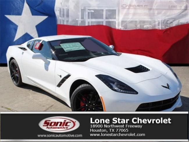 New 2019 Chevrolet Corvette Stingray Coupe K5114581 in Houston