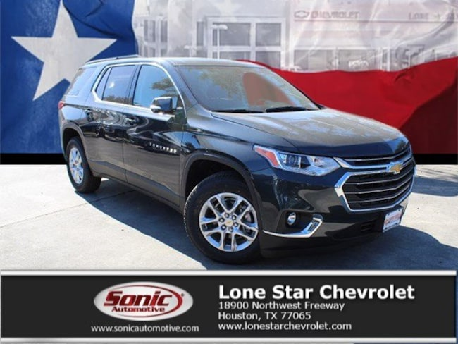 New 2019 Chevrolet Traverse LT Cloth w/1LT SUV KJ186936 in Houston