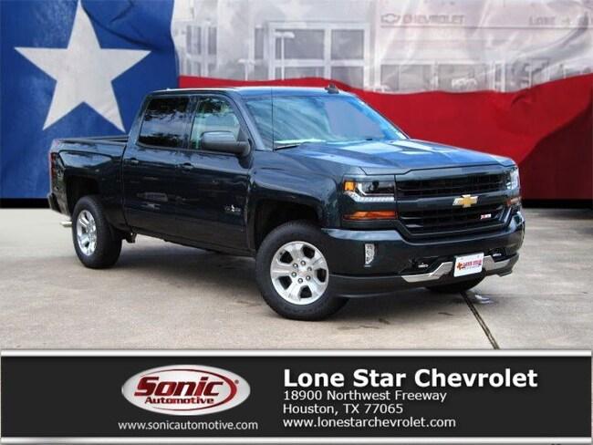New 2018 Chevrolet Silverado 1500 LT Truck Crew Cab JG520865 in Houston
