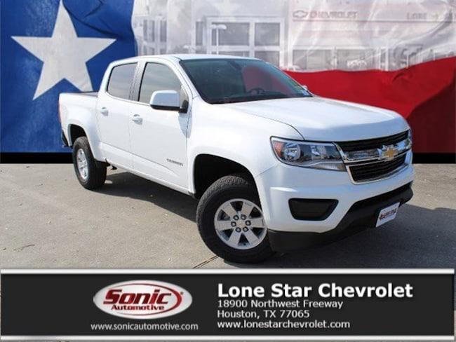 New 2019 Chevrolet Colorado WT Truck Crew Cab K1179029 in Houston