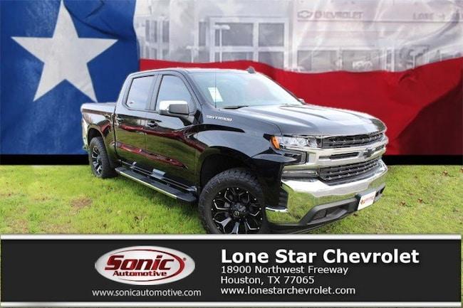 New 2019 Chevrolet Silverado 1500 LT (LIFTED) Truck Crew Cab KZ113175 in Houston