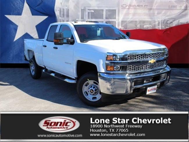 New 2019 Chevrolet Silverado 2500HD WT Truck Double Cab K1130807 in Houston