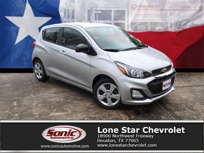 New 2019 Chevrolet Spark LS CVT Hatchback KC761876 in Houston
