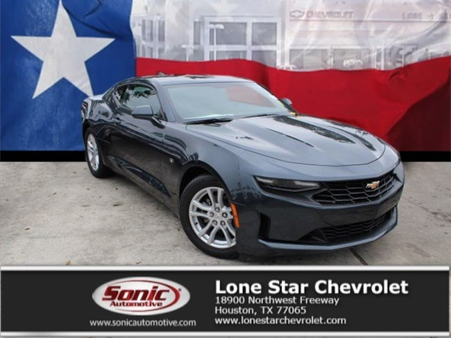 New 2019 Chevrolet Camaro Coupe K0115965 in Houston