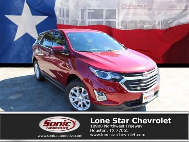 New 2019 Chevrolet Equinox LT w/1LT (CUSTOM) SUV K6140762 in Houston