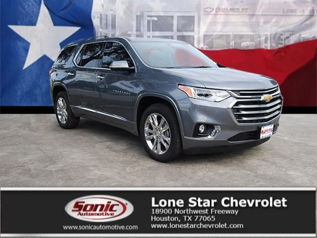 New 2019 Chevrolet Traverse High Country SUV KJ138941 in Houston