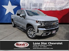 New 2019 Chevrolet Silverado 1500 LTZ Truck Crew Cab KZ125371 in Houston