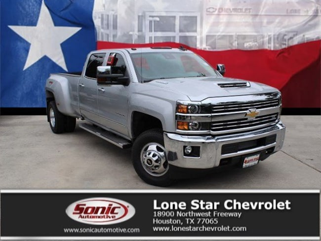 New 2019 Chevrolet Silverado 3500HD LTZ Truck Crew Cab KF166155 in Houston