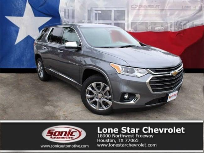 New 2019 Chevrolet Traverse Premier SUV KJ166820 in Houston