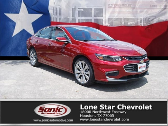 New 2018 Chevrolet Malibu Premier Sedan JF252742 in Houston