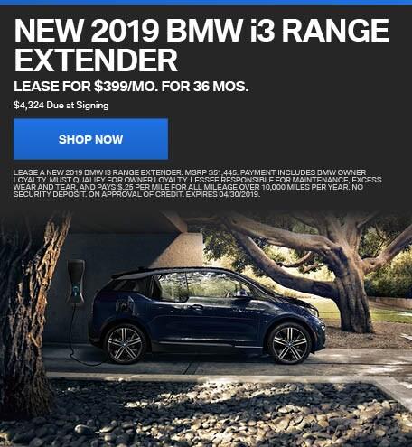 New 2019 BMW i3 Range Extender