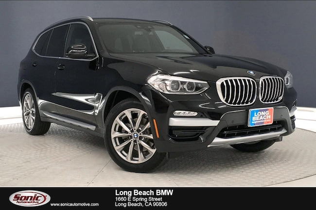 New 2019 BMW X3 sDrive30i in Long Beach