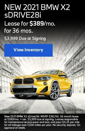 NEW 2021 BMW X2 sDRIVE28i