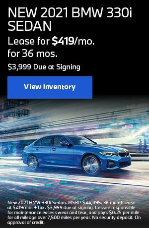 NEW 2021 BMW 330i SEDAN
