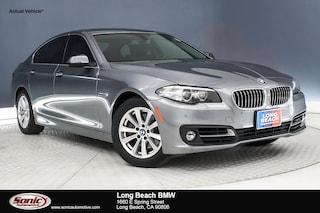 Certified 2016 BMW 528i in Long Beach, CA