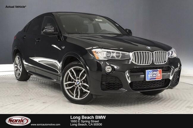 Used 2016 BMW X4 xDrive35i in Long Beach