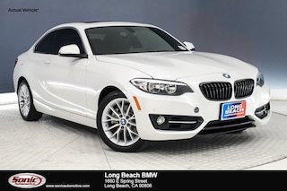 Used 2016 BMW 228i w/SULEV Coupe for sale in Santa Monica