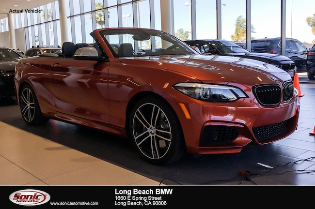 New 2018 BMW M240i Convertible in Long Beach