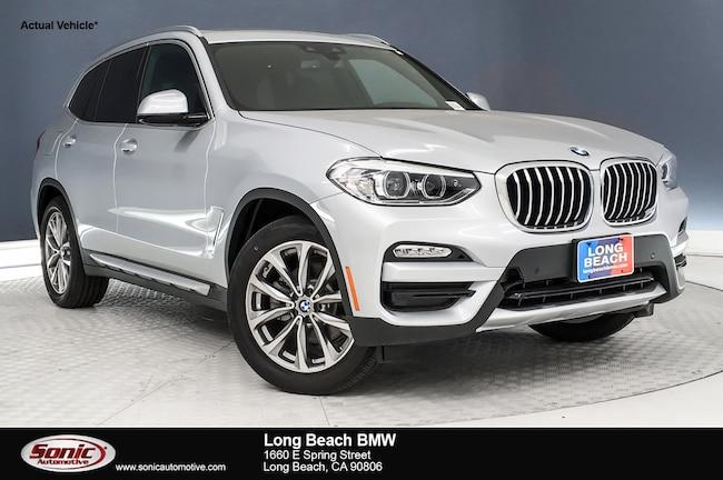 New 2019 BMW X3 sDrive30i SAV in Long Beach