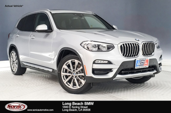 New 2019 BMW X3 sDrive30i in Long Beach
