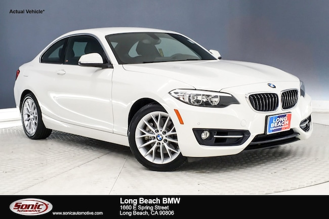 Certified 2016 BMW 228i w/SULEV in Long Beach
