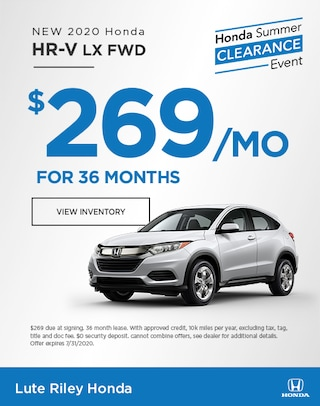 2020 Honda HR-V Lease Specials