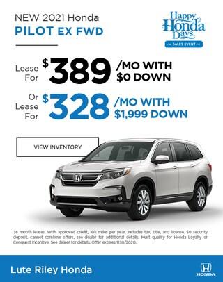 2021 Honda Pilot Offers